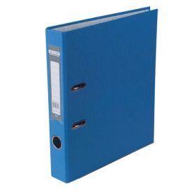 Папка-реєстратор А-4 50мм PP Buromax одностороннє покриття синя