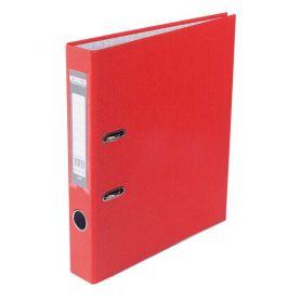 Папка-реєстратор А-4 50мм PP Buromax одностороння червоний