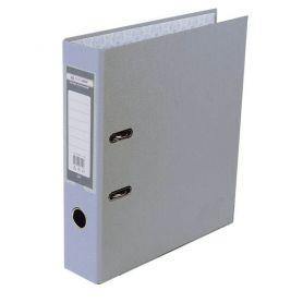 Папка-реєстратор А-4 50мм PP Buromax одностороння сірий