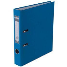 Папка-реєстратор А-4 50мм PP Buromax одностороння св.синій