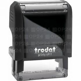 Оснастка Trodat до штампу 38х14мм Printy, пластик сірий/чорний
