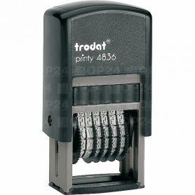 Нумератор Trodat 6-розрядний 3,8мм Printy, пластик
