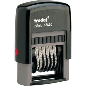 Нумератор Trodat 6-розрядний 4мм Prinry, пластик