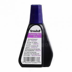 Фарба штемпельна Trodat 28мл фіолетова