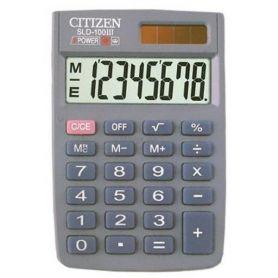 Калькулятор Citizen 8р карм.2ел.живлення,рез.клавіатура 58х87х12мм