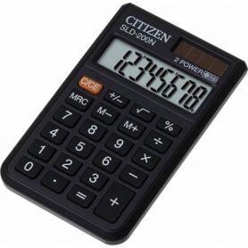 Калькулятор Citizen 8р карм.2ел.живлення,рез.клавіатура 61х97,5х12мм