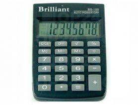 Калькулятор Brilliant 8р. карм. ПВХ обл. 58х88х10мм
