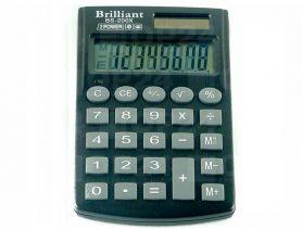 Калькулятор Brilliant 8р. карм. 2ел.живлення ПВХ обл. 62х98х10мм
