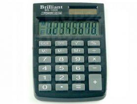 Калькулятор Brilliant 8р. карм.2 ел.живлення ПВХ обл. 58х88х10мм