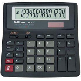Калькулятор Brilliant 14р. бухг. 2ел.живлення 155х155х15мм