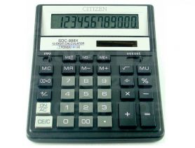 Калькулятор Citizen 12р бухг. 2ел.живлення 203х158х31мм