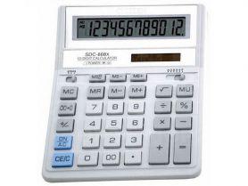 Калькулятор Citizen 12р бухг. 2ел.живлення сірі кнопки 203х158, 2х31мм
