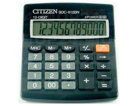 Калькулятор Citizen 12р бухг. 2ел.живлення 125х100х34мм