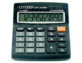 Калькулятор Citizen 10р бухг. 2ел.живлення 125х100х34мм