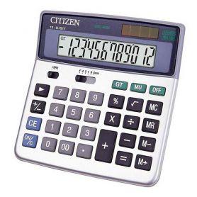 Калькулятор Citizen 12р бухг. 2ел.живлення 165х150х34мм