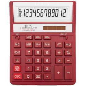 Калькулятор Brilliant 12р бухг. 2эл.живлення, червоний 205х159х15мм