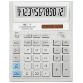 Калькулятор Brilliant 12р бухг. 2эл.живлення, білий 205х159х15мм