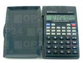 Калькулятор Brilliant 10р інж., 56функцій, 72х120х12
