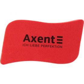 Губка для дошки 110х60x21мм EVA Wave червона Axent