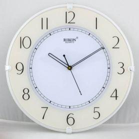 Годинник Rikon настінний круглий White