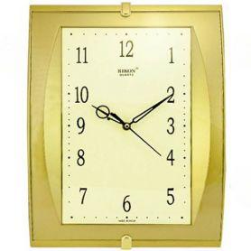 Годинник Rikon настінний квадратний Golden