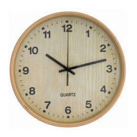 Годинник Optima настінний круглий дерево d25,7