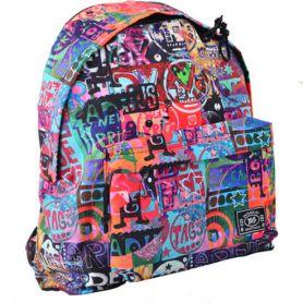 Рюкзак YES Crazy relax ST-17 1відділення, ущільнена спинка, 1передня кишеня, кольоровий