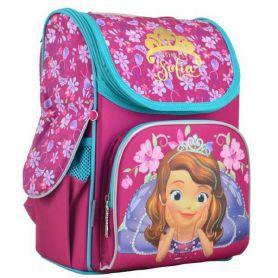 Рюкзак 1Вересня каркас Sofia rose ортопедична спинка, 2 бічні, 1 передня кишені