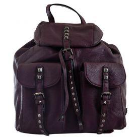 Рюкзак-сумка Yes Weekend 1відділення, 2передні кишені, 30х29х17см сливовий