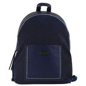 Рюкзак-сумка Yes Weekend 1відділення, 1передня кишеня, 37х26х10см синій