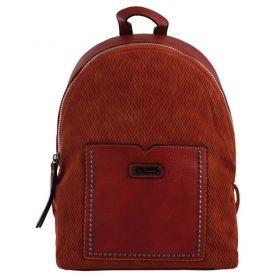 Рюкзак-сумка Yes Weekend 1відділення, 1передня кишеня, 37х26х10см цегляний