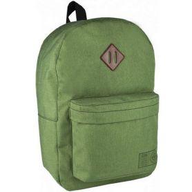 Рюкзак CFS 1від., м'яка спинка, 1передня кишеня, зелений