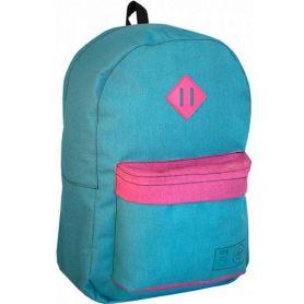 Рюкзак CFS 1від., м'яка спинка, 1передня кишеня, бірюза