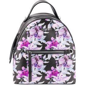 Рюкзак-сумка Kite Fashion 1 отделение, 1передний карман, эко-кожа, цветочный принт