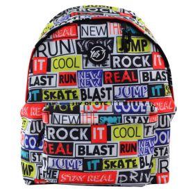 Рюкзак YES ST-17 Real Life 1відділення, ущільнена спинка, 1передня кишеня, кольоровий