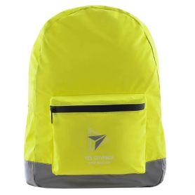 Рюкзак YES T-66 Yellow 1відділення, м'яка спинка, 1 передня кишня, світловідбиваючий поліестер