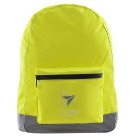 Рюкзак YES T-66 Yellow 1 отделение, мягкая спинка, 1 передний карман, полиэстер