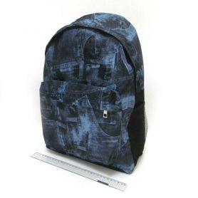 Рюкзак міський Джинс 1 відділення, м'яка.спинка, 1передня кишеня