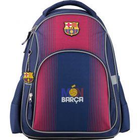 Рюкзак Kite Barcelona 1 відділення, ортопедична спинка, 2бічні, 1передня кишені, синій