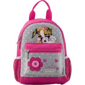 Рюкзак дошкільний Kite 1 відділення, ущільнена спинка, 2 бокові, 1 передня кишеня
