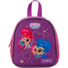 Рюкзак дошкільний Kite Shimmer&Shine 1 відділення, ущільнена спинка, 2 бокові, 1 передня кишені