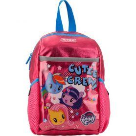 Рюкзак дошкільний Kite My Little Pony 1 відділення, ущільнена спинка, 2 бокові, 1 передня кишеня