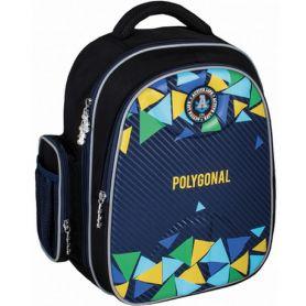 Рюкзак CFS EVA Polygonal 2 відділення, ортопедична спинка, бічні кишені