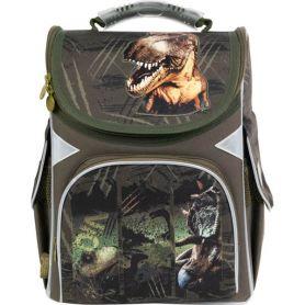 Рюкзак GoPack Education Dinosaurs каркас 1 відділення, ортопедична спинка, 2бічні, 1передня кишені
