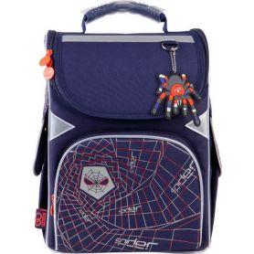 Рюкзак GoPack Education Spider каркас 1 відділення, ортопедична спинка, 2бічні, 1передня кишені