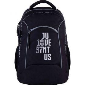 Рюкзак Kite Juventus 2відділення, ортопедична спинка, 2бічні, 1передня кишені+бафф