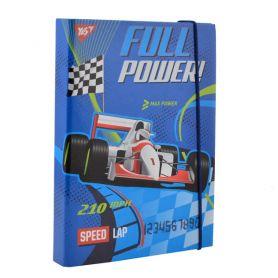 Папка для зошитів В-5 картон на гумці Full power Yes