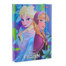Папка для зошитів В-5 картон на гумці Frozen 1Вересня