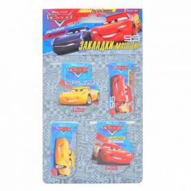Закладка з магнітом Cars (за 4шт) 1Вересня