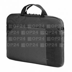 """Сумка для ноутбука Continent 40x30x6, сірий, нейлон/поліестер, 15,6"""""""